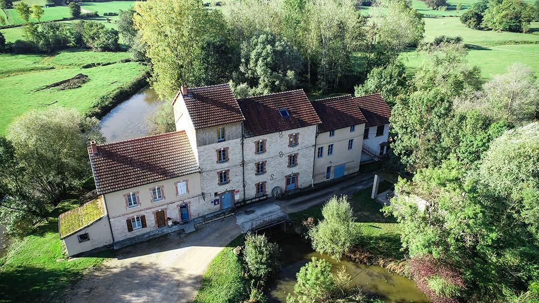 Moulin de Montjay-Ménétreuil